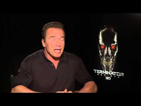 "Terminator: Genisys: Arnold Schwarzenegger ""Guardian"" Official Movie Interview"