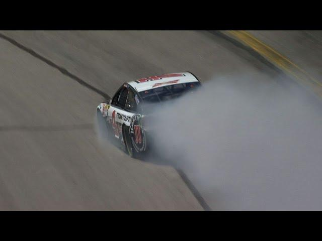 Kevin Harvick Blows His Engine and Will Start in Back - 2015 NASCAR Sprint Cup