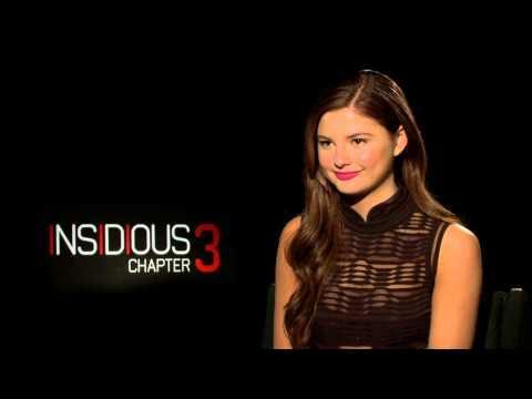 """Insidious: Chapter 3: Stefanie Scott """"Quinn Brenner"""" Official Movie Interview"""