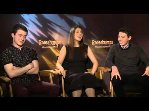 Goosebumps: Dylan Minnette, Odeya Rush & Ryan Lee  Exclusive Interview
