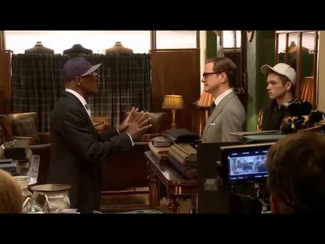 Kingsman: The Secret Service: Behind the Scenes Movie Broll 2- Colin Firth, Sam Jackson