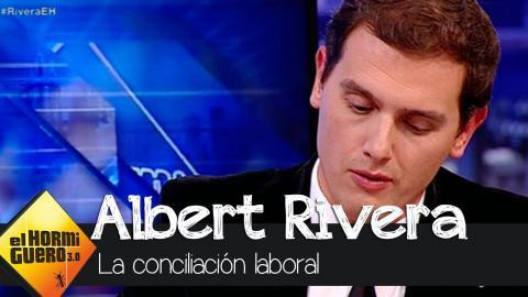 Albert Rivera ha hablado sobre cómo gestionaría él la conciliación laboral - El Hormiguero 3.0
