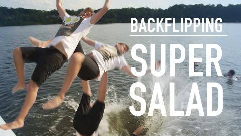 Backflipping Super Salad Recipe #LostandHungry