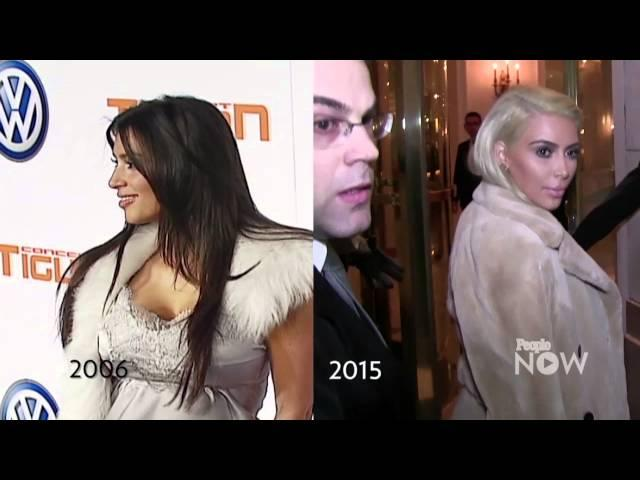 The Kardashian's #TBT Changing Looks! | PEOPLENow