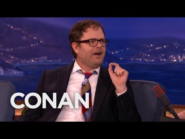 Rainn Wilson Hates Hipster Foodies  - CONAN on TBS