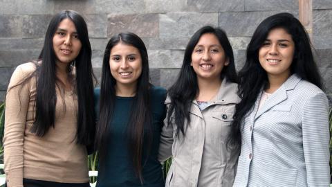 Alumnas de la UP ganadoras en Latinoamérica en The Fresh Connection