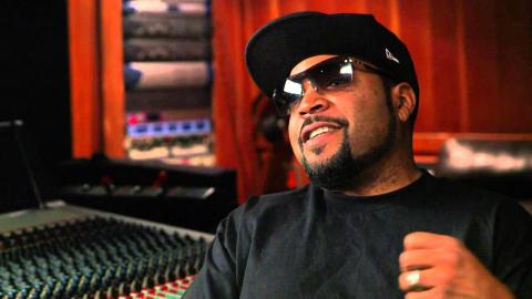 Straight Outta Compton: Producer Ice Cube Behind the Scenes Movie Interview