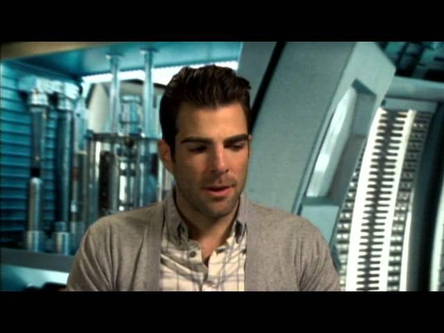 Star Trek: Zachary Quinto Official interview