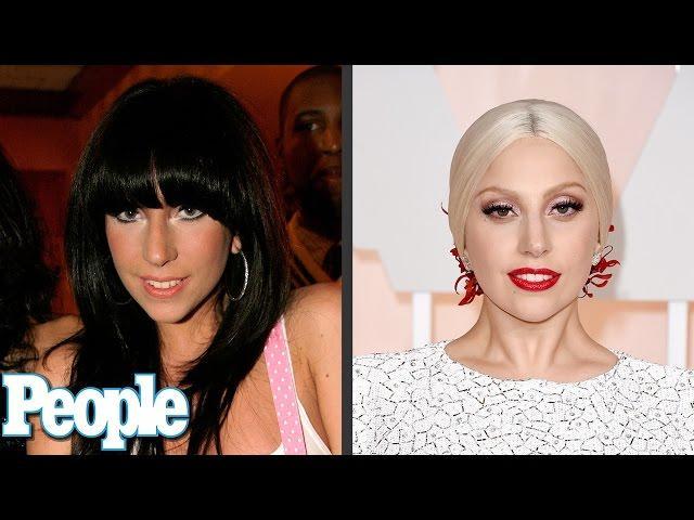 Lady Gaga's Evolution of Looks | Time Machine | PEOPLE