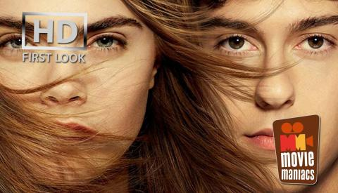 Paper Towns   Shave his eyebrow FIRST LOOK clip (2015) Cara Delevingne