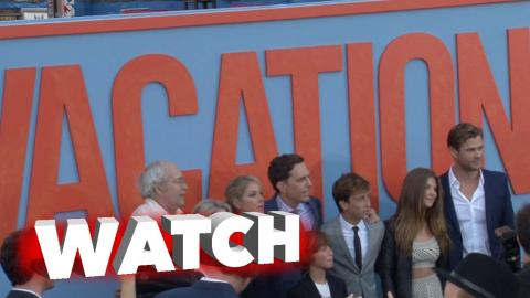 Vacation Premiere with Ed Helms and Christina Applegate