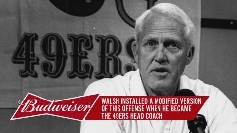 Bill Walsh's West Coach Offense Changed The NFL Forever