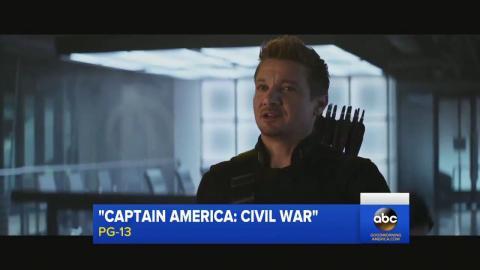 Captain America: Civil War: Hawkeye & Scarlet Witch Movie Clip