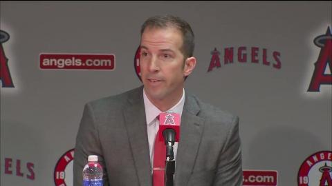 Angels introduce Billy Eppler as new general manager