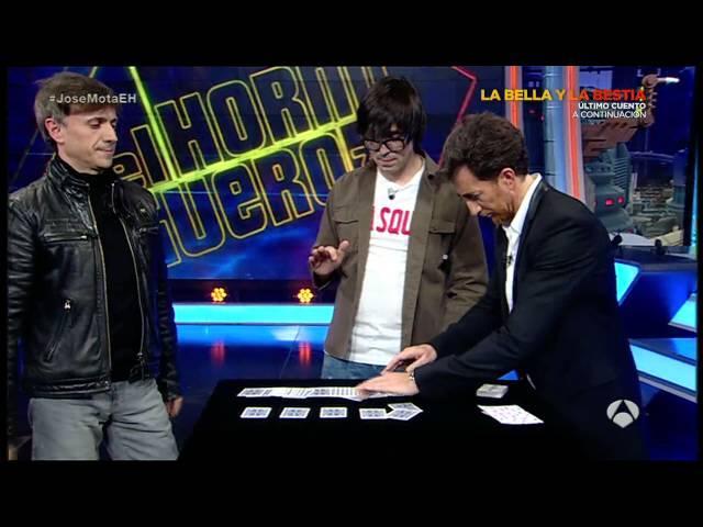 La carta elegida con calor de Luis Piedrahita en El Hormiguero 3.0