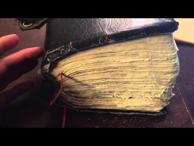 Why Ray Comfort's Bible is so Big