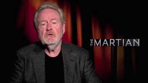 The Martian |Q&A with the ISS crew (2015) Matt Damon