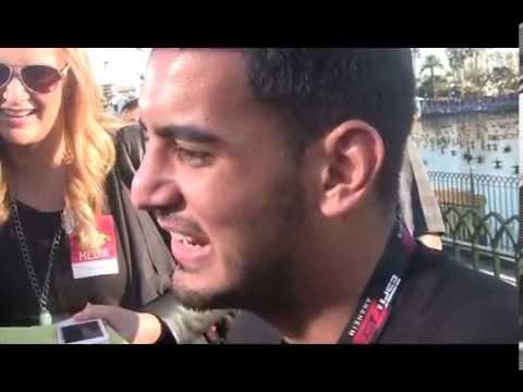 Marcus Mariota Interviews in Disneyland