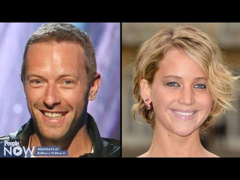 Jennifer Lawrence and Chris Martin Are Heating Things up!   PEOPLE Now