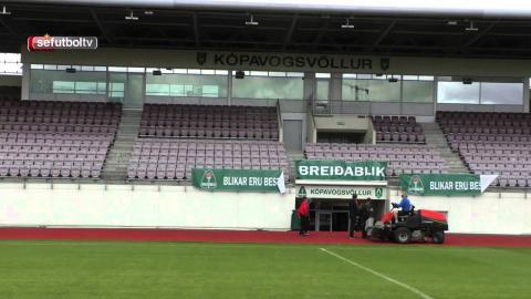 La Sub-17 femenina visita el estadio Kopavogsvöllur