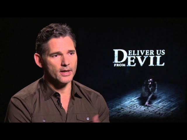 """Deliver Us from Evil: Eric Bana """"Ralphie Sarchie"""" Official Movie Interview"""