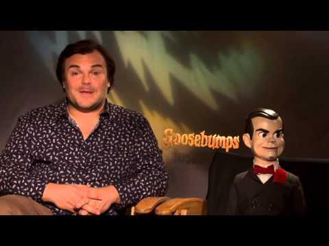 Goosebumps: Jack Black & Slappy Official Movie Interview
