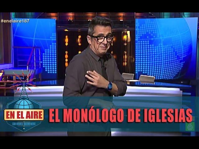 """Buenafuente: """"Juan Podemos,nosotros nos lo guisamos, nosotros nos lo comemos"""" - En el aire"""