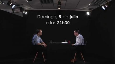 Otra Vuelta de Tuerka - Pablo Iglesias con René Ramírez