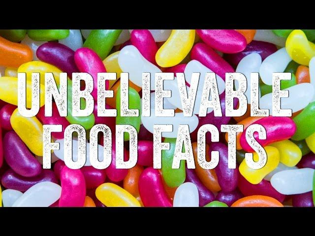 Unbelievable Food Facts - True or False