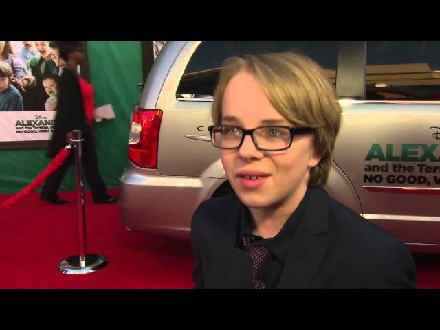"""Alexander and the Terrible... Very Bad Day: Ed Oxenbould """"Alexander Cooper"""" Premiere Interview"""