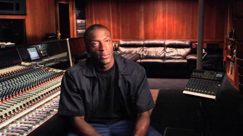 "Straight Outta Compton: Aldis Hodge ""MC Ren"" Behind the Scenes Movie Interview"