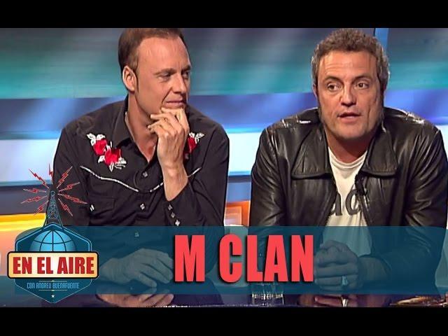 Buenafuente entrevista a M Clan - En el aire