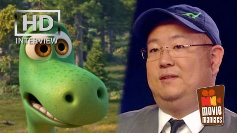 The Good Dinosaur   Peter Sohn & Denise Ream exclusive interview (2015)
