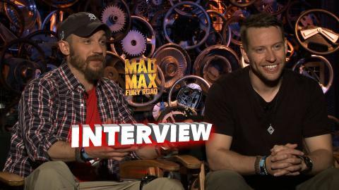 Mad Max: Fury Road: Tom Hardy and Jacob Tomuri Talks George Martin & Characters