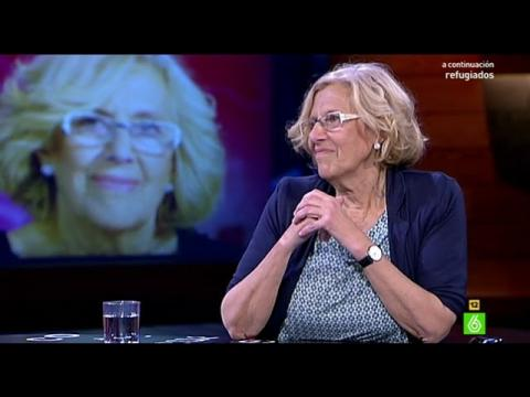 "Manuela Carmena: ""A Ada Colau la admiro muchísimo"""