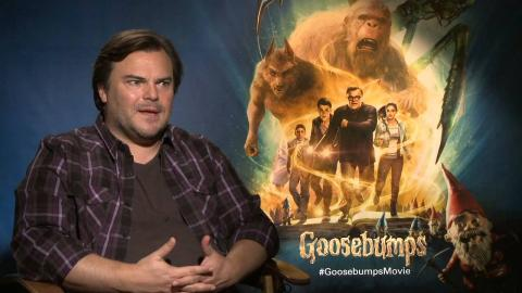 Goosebumps: Jack Black Exclusive Interview