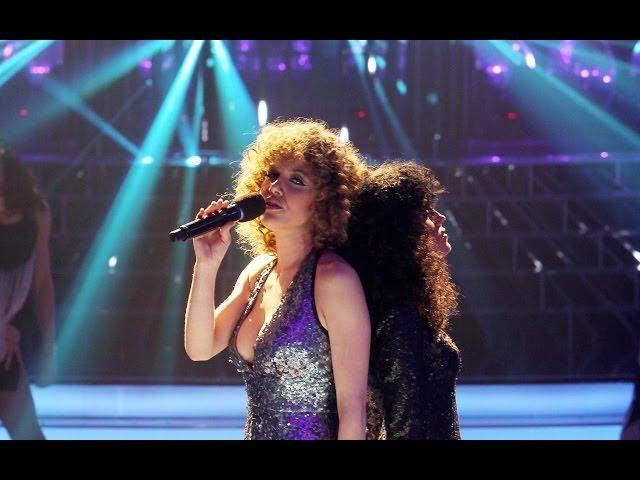Tu cara me suena - Angy Fernández y Roko imitan a Donna Summer y Barbra Streisand