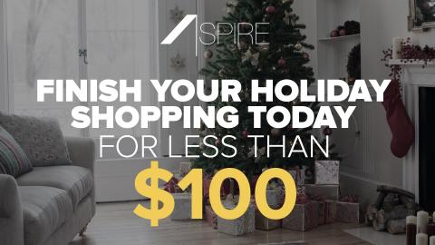 Get All Your Holiday Shopping Done For Under $100 Today