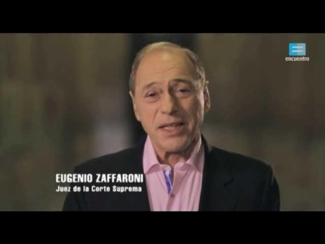 30 años de democracia: Eugenio Zaffaroni - Canal Encuentro