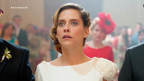 A un paso del altar, Carmen descubre que su boda es un error - Allí abajo