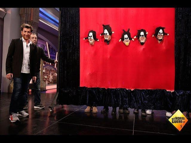 Auryn se convierte en 'barbillas cantantes' en El Hormiguero 3.0