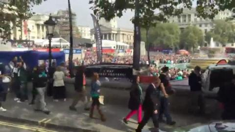 The Jets greet the NFL London fans - PRIOcast