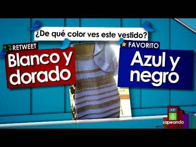 Cristina Pedroche analiza los colores del vestido más viral