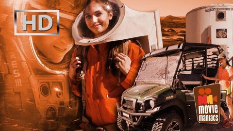 Der Marsianer | Vanessa im Astronauten-Survival-Camp, Utah