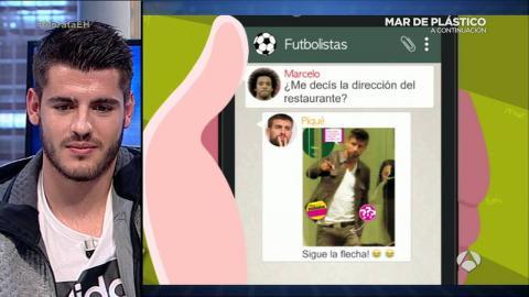 Trancas y Barrancas se cuelan en el grupo de Whatsapp de Morata