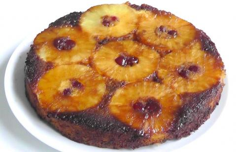How to Make  Pineapple Upside down Cake recipe.