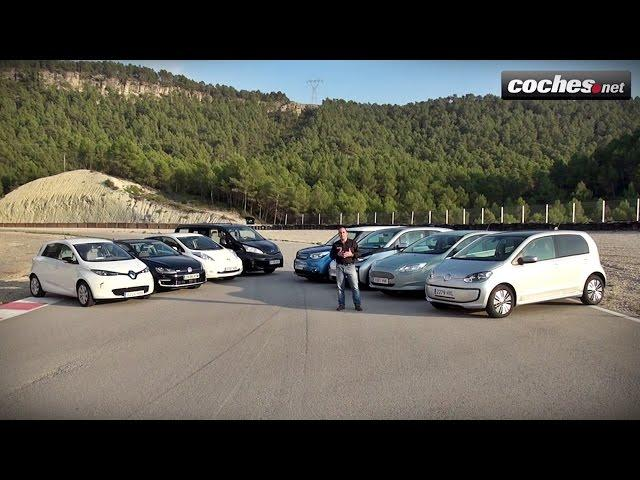 Comparativo Eléctricos coches.net: BMW i3, Leaf, Soul EV, Zoe, e-up!, e-Golf, Focus, e-NV200 (2014)