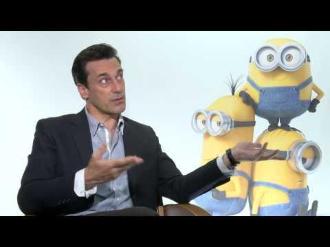 Minions: John Hamm Official Movie Interview Part 2