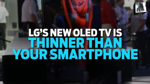 LG G6 OLED 4K TV: A TV Thinner Than Your Smartphone | Big Shiny Things