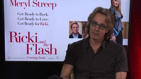 "Ricki and the Flash: Rick Springfield ""Greg"" on the story"